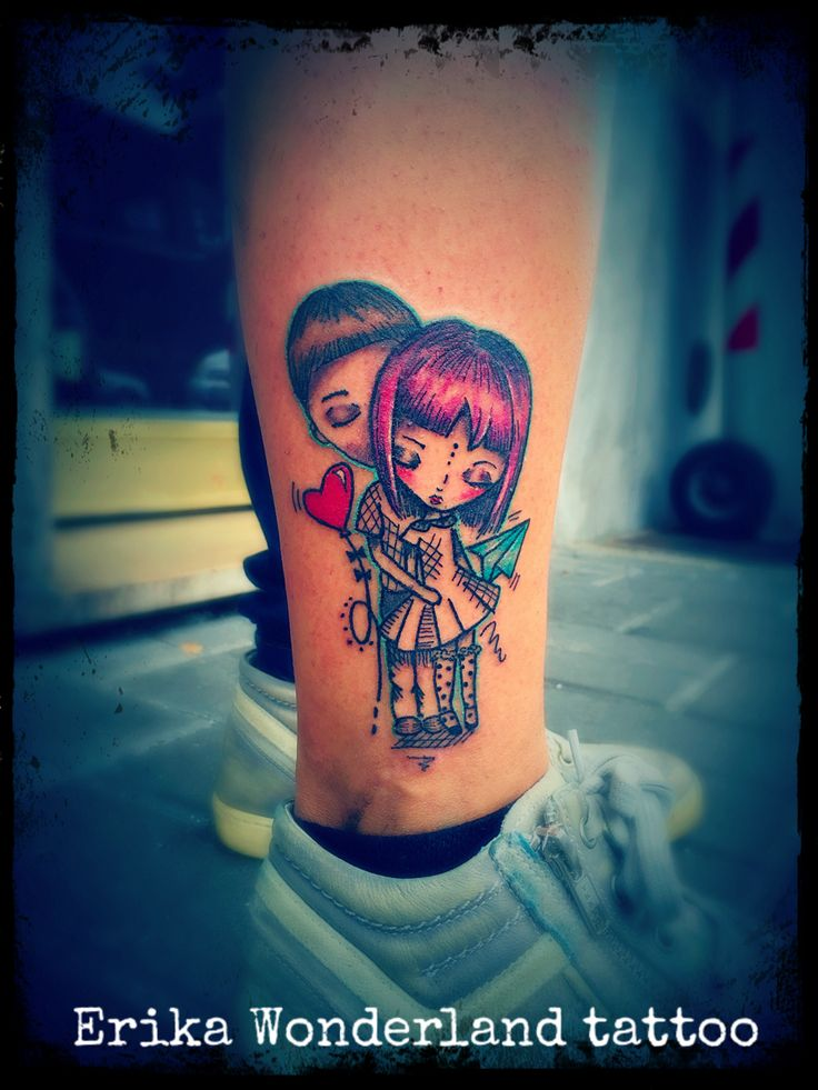 Fratello e sorella tattoo... By Erika Wonderland