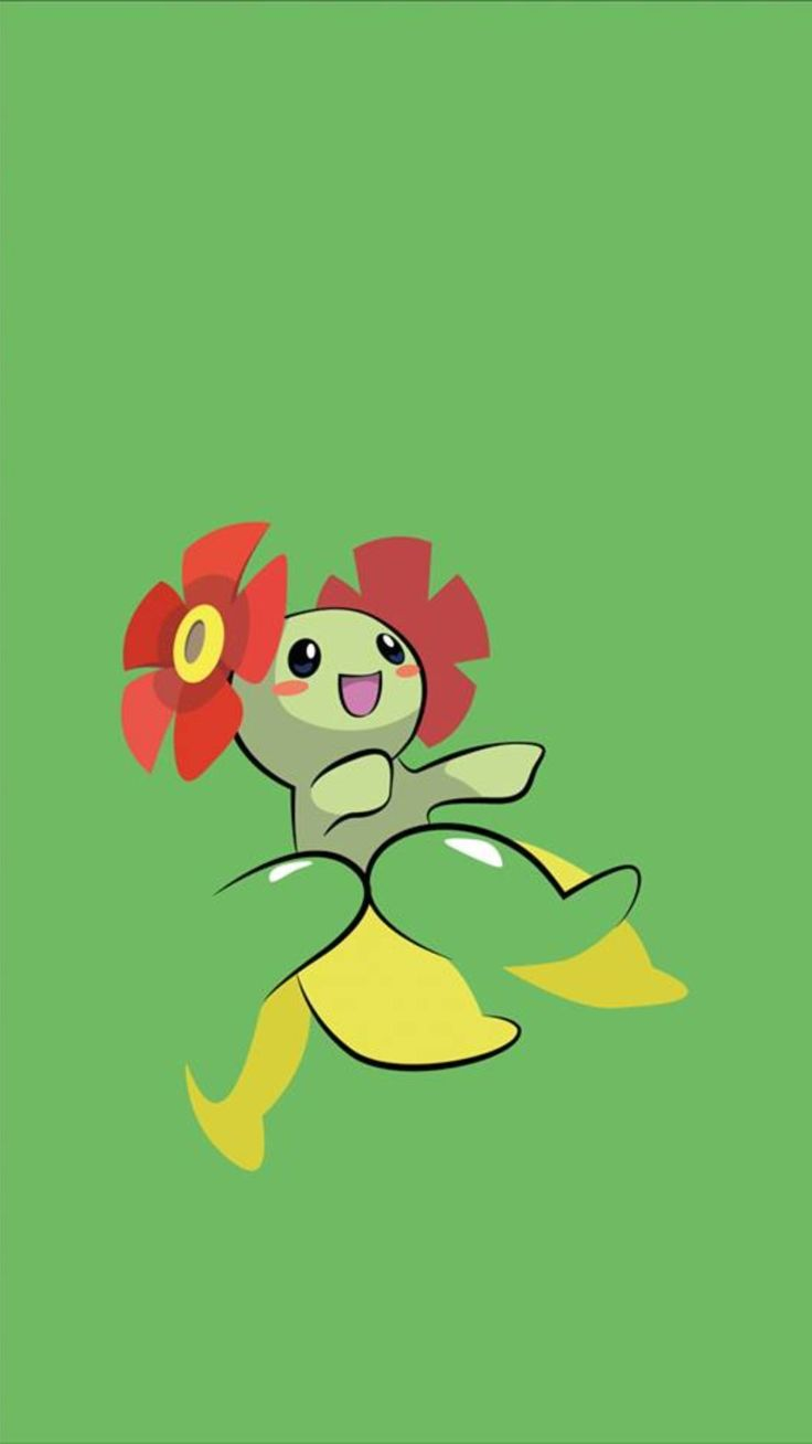 iphone pokemon wallpaper bellossom tap to see more go wallpaper 8446