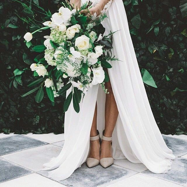 """2,284 Likes, 17 Comments - Hues of Vintage (@huesofvintage) on Instagram: """"A peak at the bride's shoes and her lush bouquet. Photography @enchanted_weddings . . .…"""""""