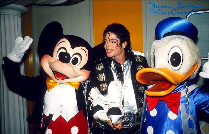 Michael Jackson stopped by the Mickey Mouse Club when it filmed at Florida's Disney-MGM Studios in 1990.