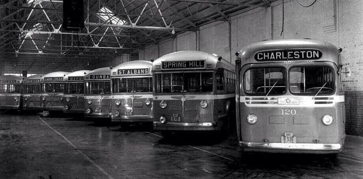 Greyhound Bus Station in Charleston, WV194050'sAOUWV