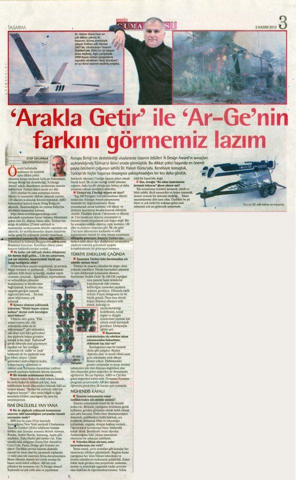 Akşam Gazetesi / Dr.Hakan Gürsu - Designnobis.