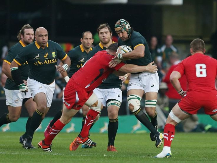 Likewise for South Africa: Victor Matfield
