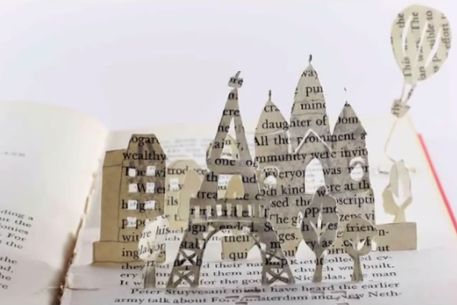 Kayte Terry's Paper Crafts and music video from Jonathan Brooke