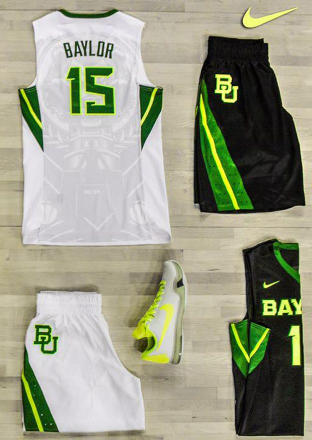 New Baylor Basketball Uniforms