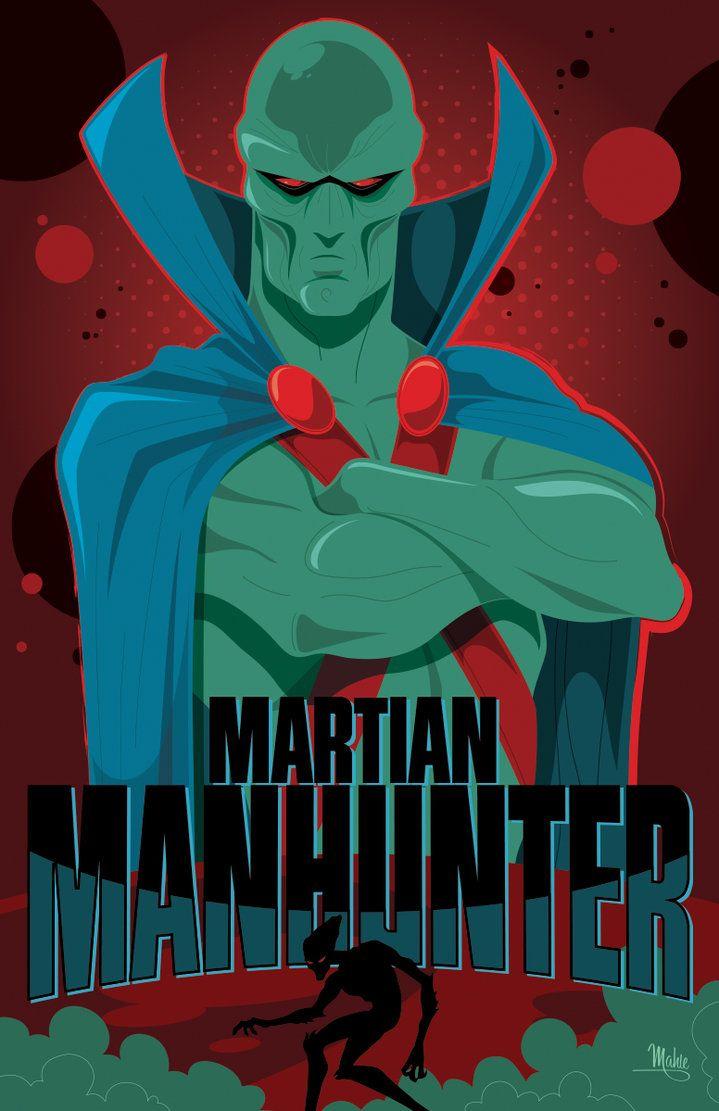 Martian Manhunter by MikeMahle on deviantART