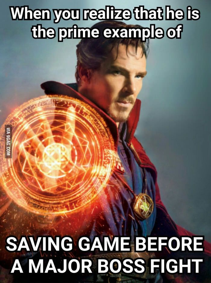 Doctor Strange. Hehe, you get the joke once you see the movie. Just saw it, and it was awesome!