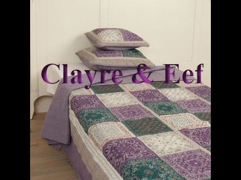 Bedspreien en kussens Clayre & Eef