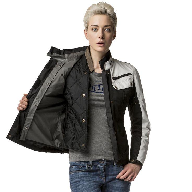 O casaco Worker H2Out senhora é uma evolução natural dos casacos da Spidi para combinar as soluções técnicas com a simplicidade e elegância que esta marca tanto nos habituou.  #Spidi #Worker #H2Out #Motorcycle #jacket #Casaco #Lady #Senhora