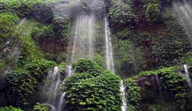 Waterfall Benang Kelambu - Lombok Tengah