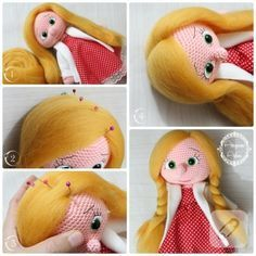 oyuncak bebek saçı