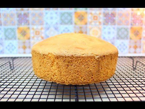 Бисквит классический / Vanilla Sponge Cake - YouTube