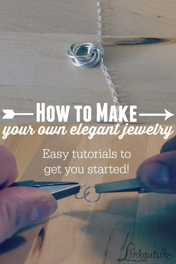 Learn to make your own gorgeous jewelry with these easy jewelry diy tutorials from a professional jewelry maker.