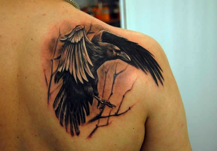 25 Awesome Shoulder Blade Tattoo Designs - Best Ideas for Life Check more at http://tattoo-journal.com/25-awesome-shoulder-blade-tattoo-designs/