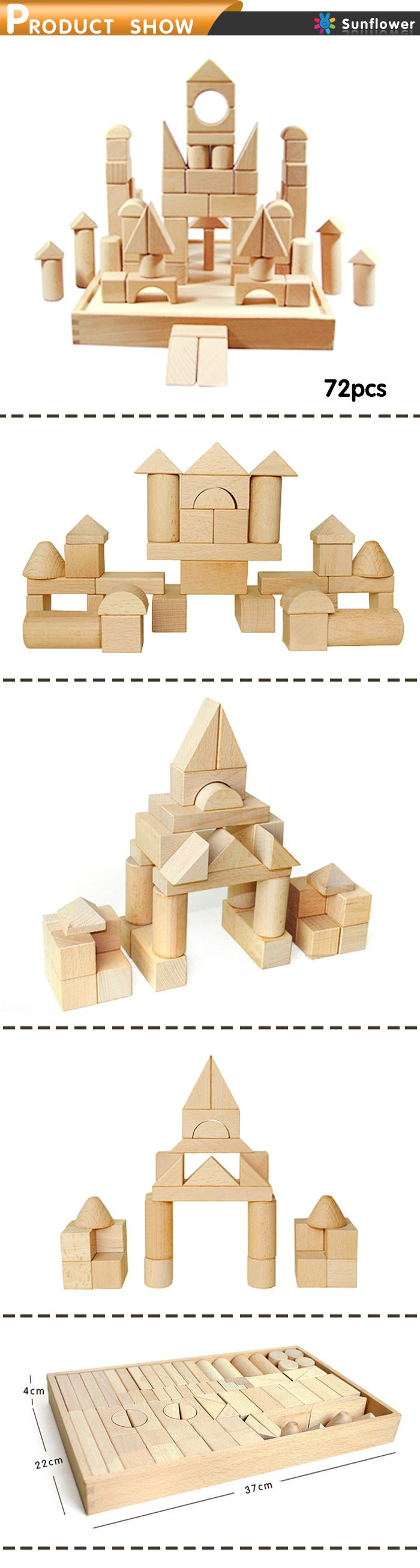Wooden building blocks /Educational toys