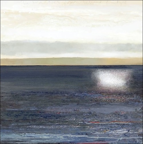 KURT JACKSON  The sun goes down behind Kintyre (2012)