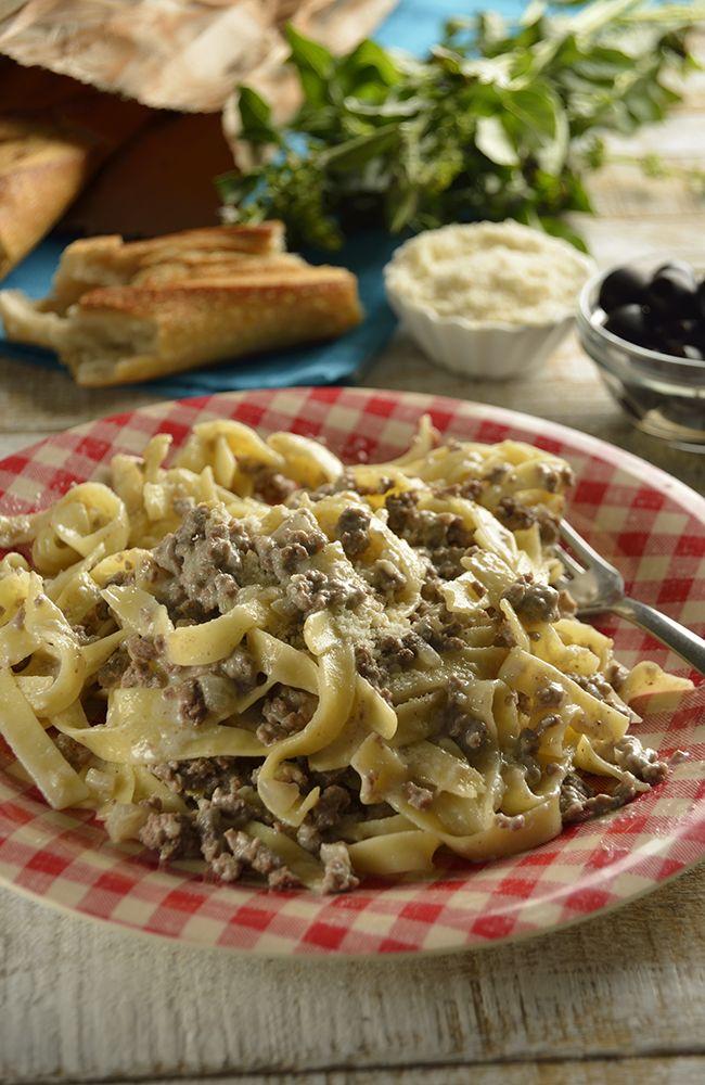 Tagliatelle con carne receta recetas caseras comida for Pasta tipica italiana