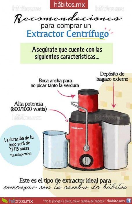 Recomendaciones para su compra de extractor de jugos!