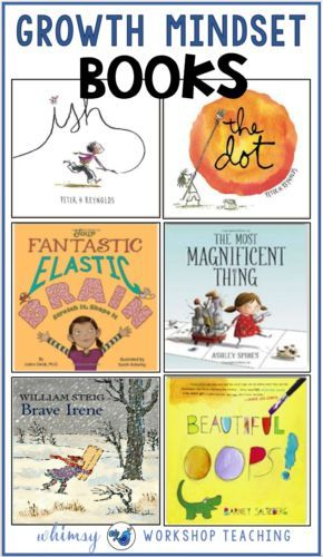 This list has my favorite books to read with students to explore growth mindset concepts, and connect the idea of growth mindset to real experiences. Plus lots of other ideas to create a Growth Mindset classroom, and free growth mindset notes to dowload!