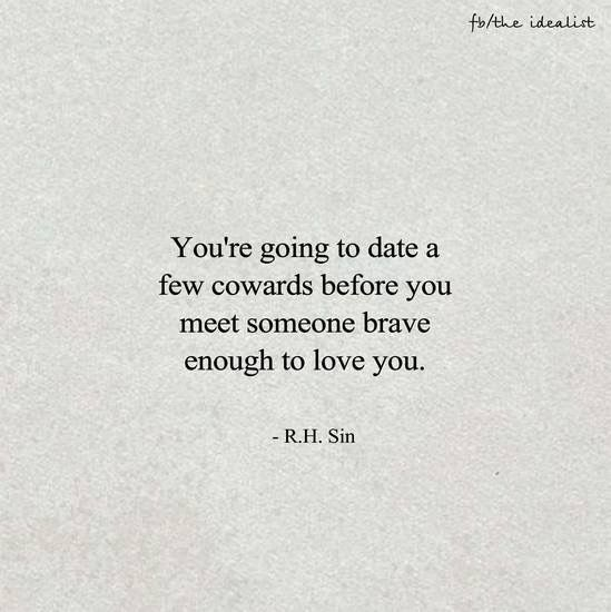 #truth. I'm so glad that My B is that brave, man! Thank you, hunny for finding the courage to reach out to me!