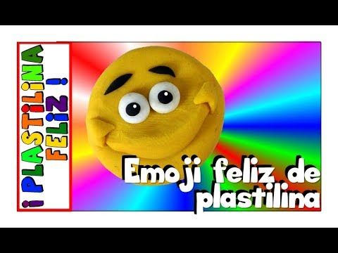 En este tutorial aprenderás paso a paso como hacer un Emoji de Plastilina, con cara feliz.