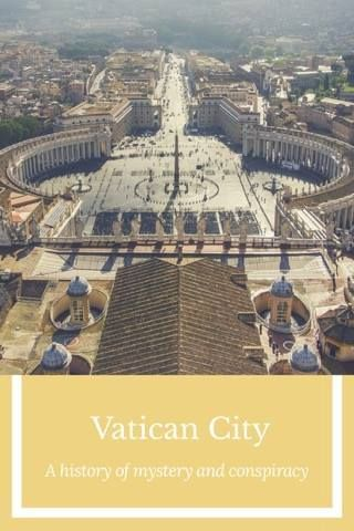 The mystery of The Vatican City.