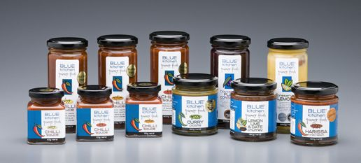 Blue Kitchen Curry Pastes and Conserves