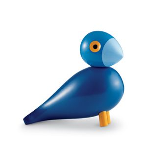 Kay Bojesen Songbird - My color is blue - modern retro