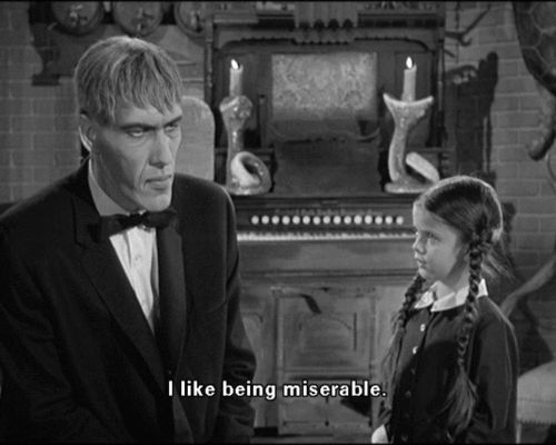 New trending GIF tagged depressed the addams family addams...