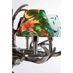 Lampadario Antler Flower Kare Design