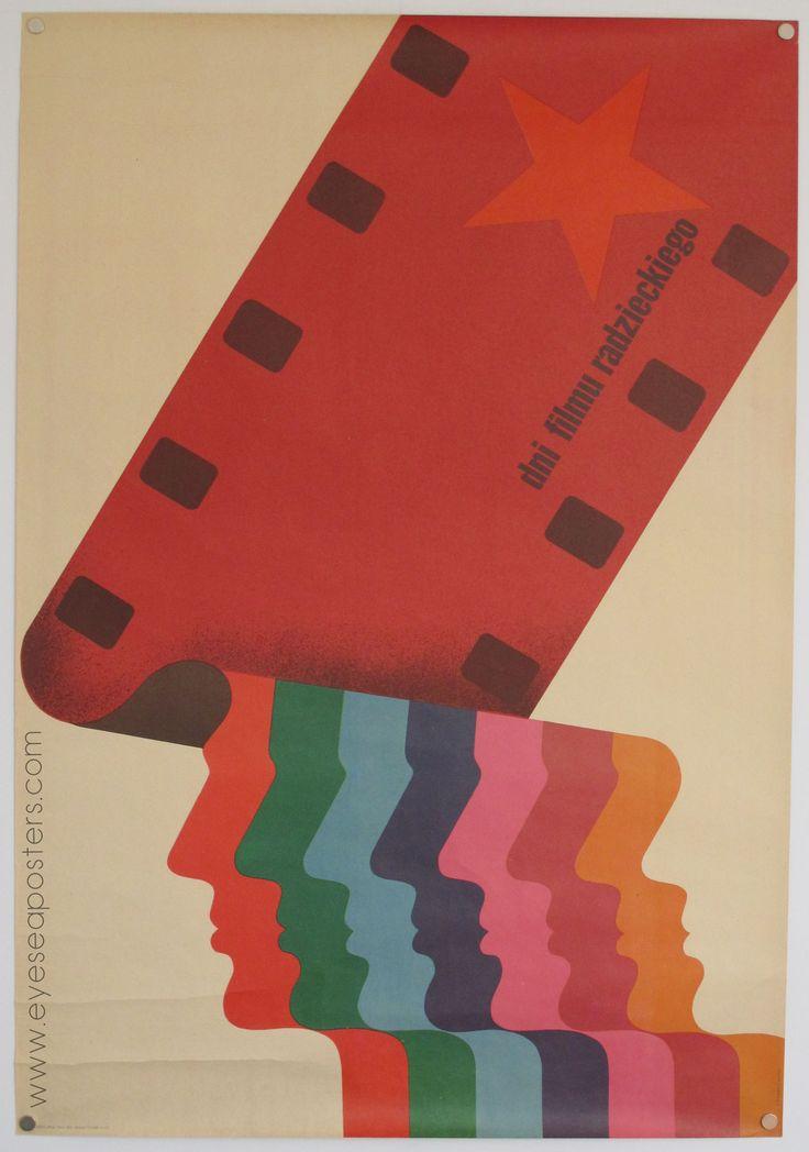 Dni Filmu Radz - original Polish film poster