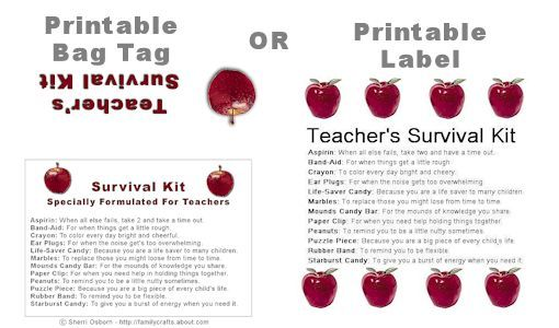 Teacher's Survival Kit Gift: How to Make a Fun Survival Kit for a Teacher