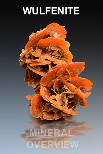 Wulfenite is vera aesthetic and very popular secondary lead molybdate. Learn more about this awesome mineral http://www.mineralexpert.org/wulfenite-mineral-overview.php