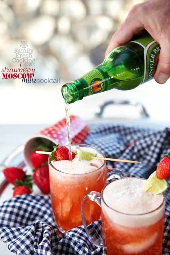Calling all strawberry lovers! Earlier this week I was calling all raspberry lovers. You can tell by now that I have a large obsession with all things berry. Looking for an amazing new cocktail? Well here ya go! Serve these Strawberry Moscow Mule Cocktails to your guests this weekend & they will love you more than …