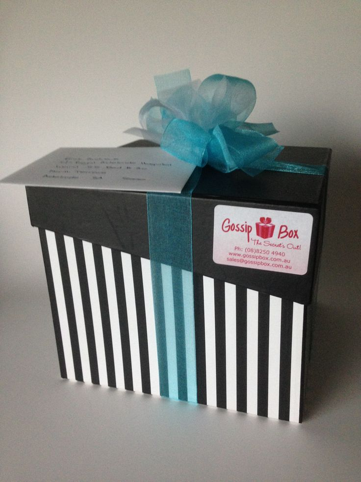 Gossip Box gift box on it's way to a worthy recipient!  #corporategifts #giftsforher #giftsforhim #giftboxes #adelaide #gifthampers #southaustralia