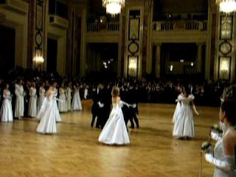 WU Ball 2006, Wien, Walzerformation (Donauwalzer)