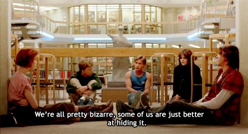 breakfast club80S Movie, The Breakfast Club, John Hugh, Movie Quotes, Pretty Bizarre, Thebreakfastclub, Favorite Movie, Movie Line, Senior Quotes