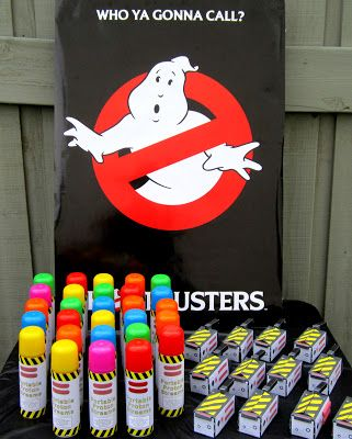 Sweeten Your Day Events: Ghost Buster Birthday Party