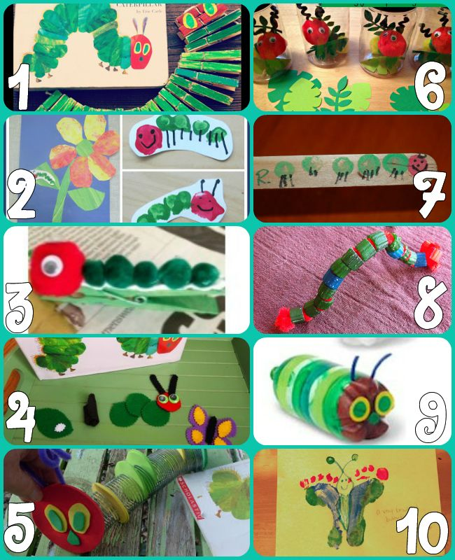Lots of play ideas to go with Hungry Caterpillar