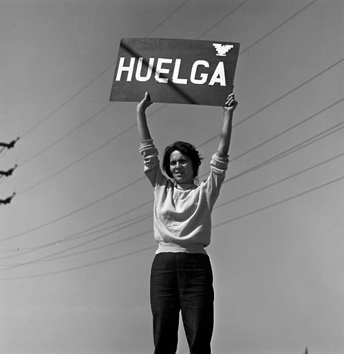On this César Estrada Chávez Day, let us remember that it was not just César Estrada Chávez fighting alone. With him, stood Dolores Clara Fernandez Huerta. She deserves as much recognition as he does.