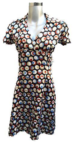 Vestido Estampado Talla mediana $180