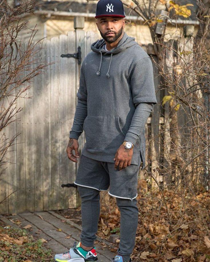 Joe Budden wearing the 'What The' Nike KD 7