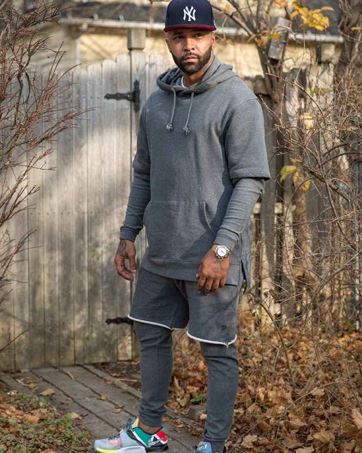 Joe Budden wearing the 'What The' Nike KD 7