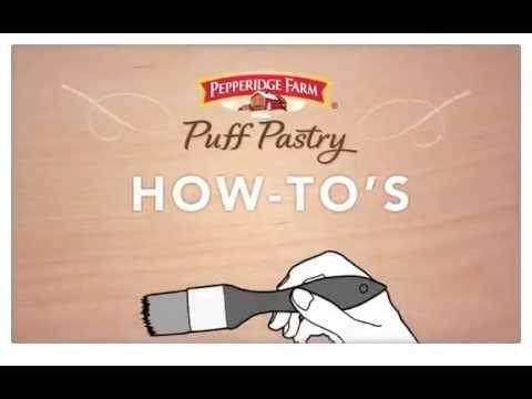 Chocolate Walnut Strudel - Puff Pastry
