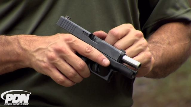 Rob Pincus talks about firearm safety and how to unload and clear your firearm at the end of a practice session.