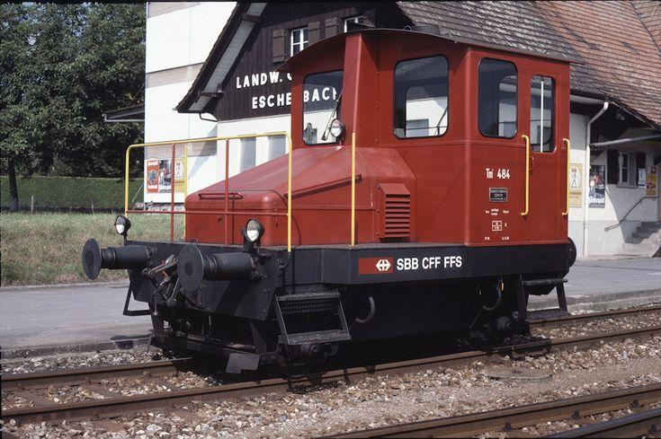 SBB Tm I 484 (30.08.1987, Eschenbach)