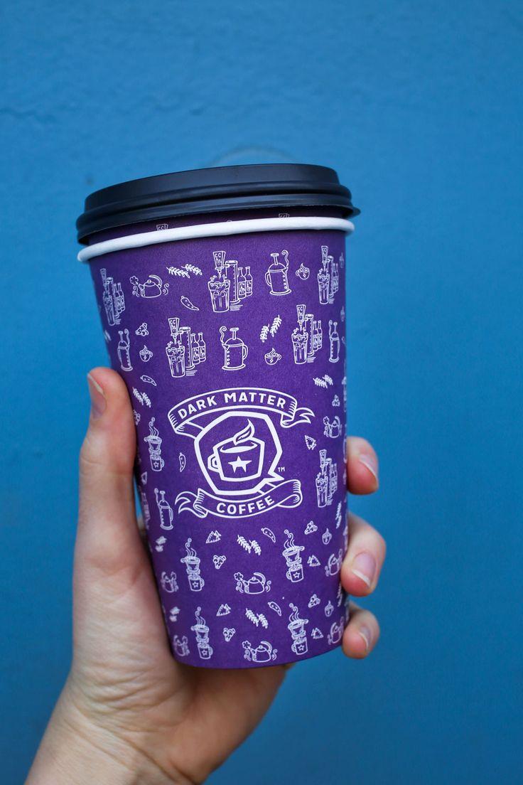 Gorgeous branding from Dark Matter Coffee in Chicago