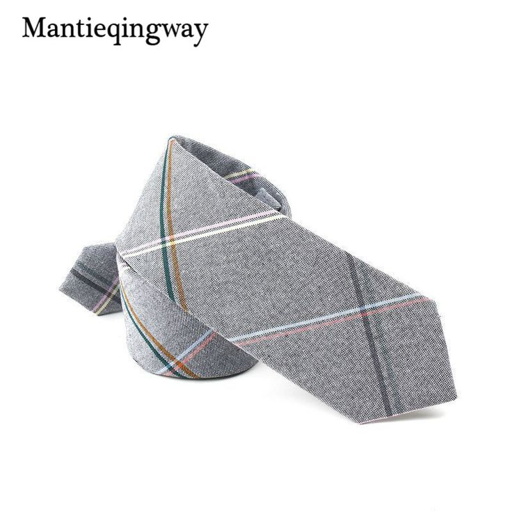 >> Click to Buy << Mantieqingway England Style Plaid Tie Bow Ties for Men Women Wedding Party Neckwear Formal Wear Business Suit Cotton Skinny Tie #Affiliate