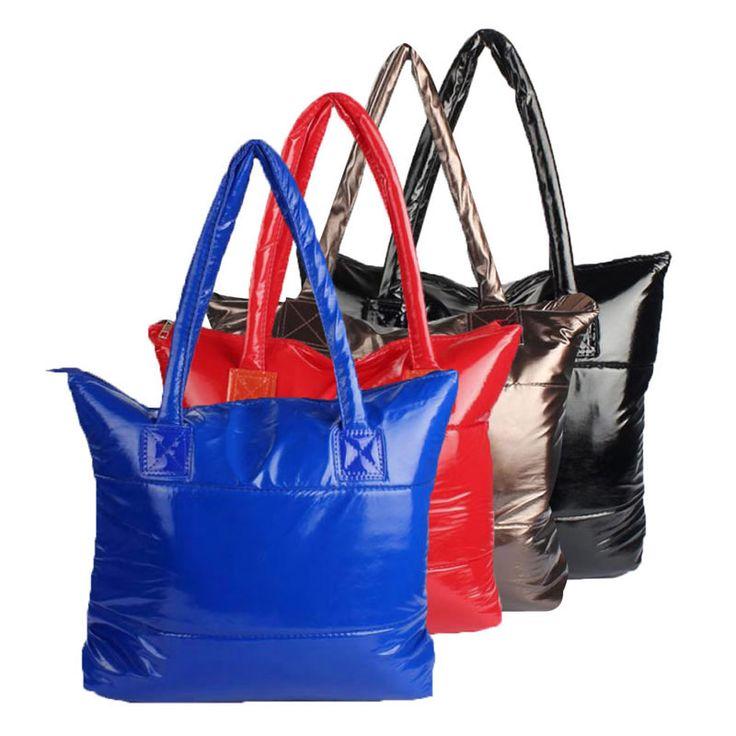 THINKTHENDO Casual Nylon Shopping Bag Totes  Lady Messenger Shoulder Bag Women Handbag