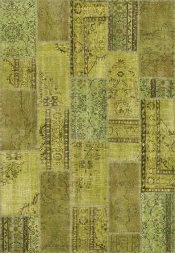 Tapis Kilim / patchwork UP CYCLE: 4950-41  ANGELO RUGS